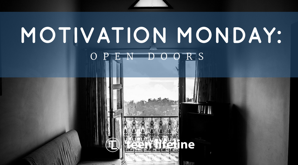 Motivation Monday: Open Doors