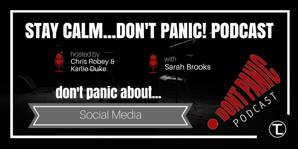 Don't Panic about Social Media with Sarah Brooks