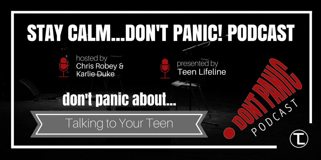 Don't Panic about Talking to Your Teen
