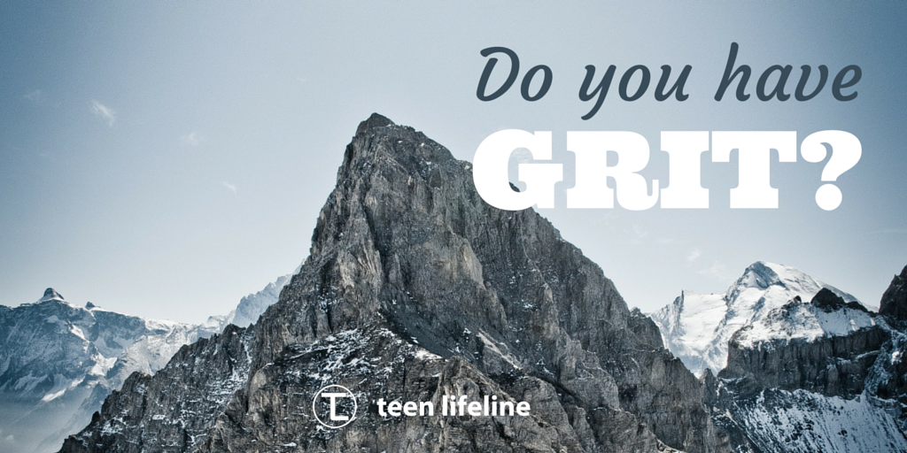 "Do You Have ""Grit""?"