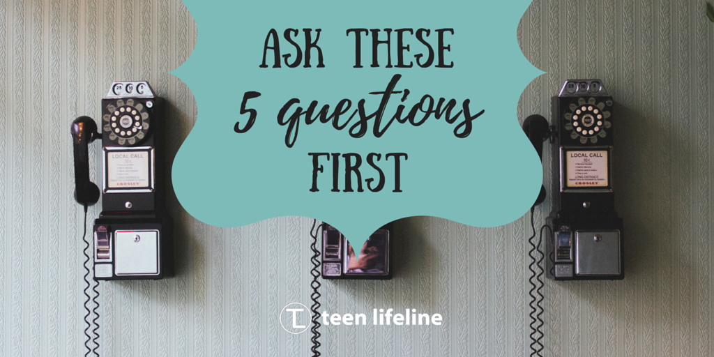 Ask These 5 Questions First