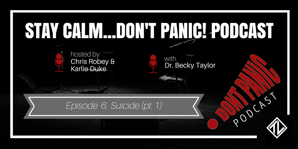 Suicide (Pt. 1) with Dr. Becky Taylor