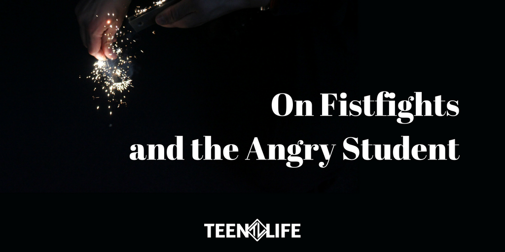 On Fistfights and the Angry Student
