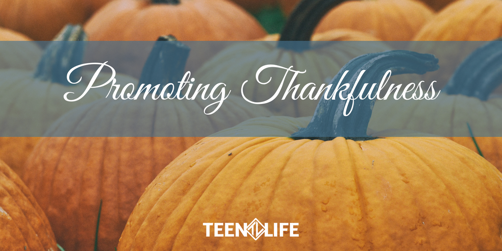 Promoting Thankfulness