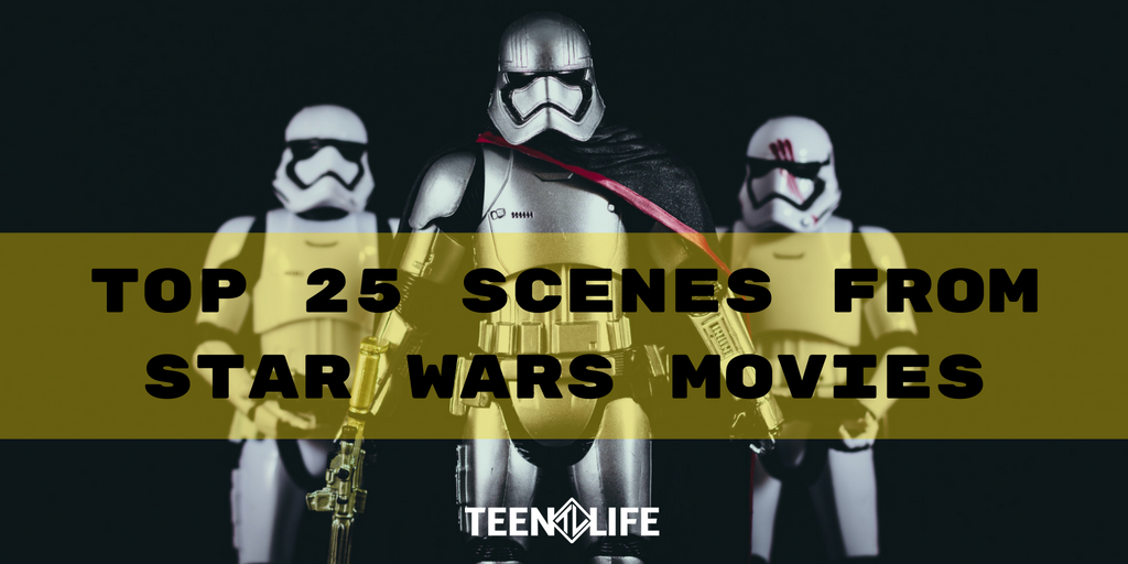 Top 25 Scenes from Star Wars Movies