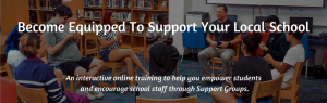 Become equipped to support your local school.